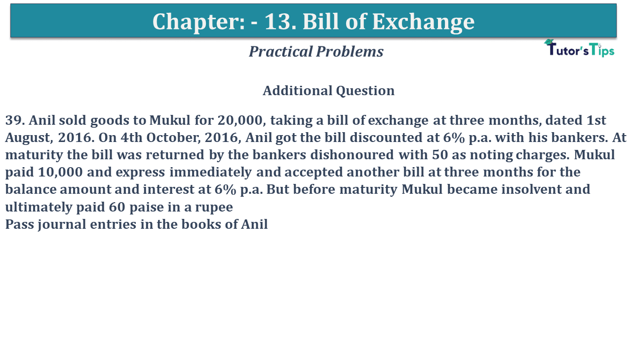 Question No 39 Chapter No 13