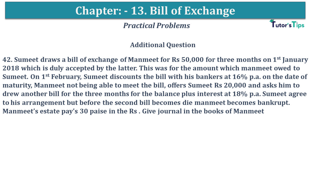 Question No 42 Chapter No 13