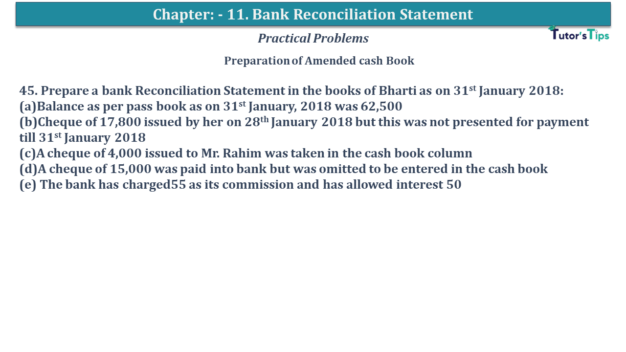 Question No 45 Chapter No 11