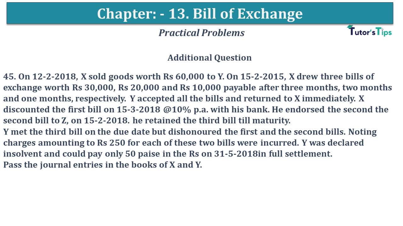 Question No 45 Chapter No 13