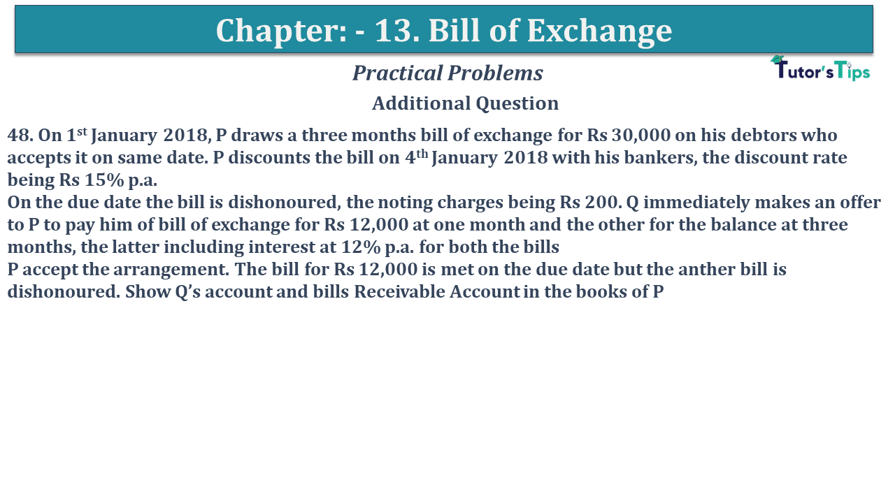Question No 48 Chapter No 13