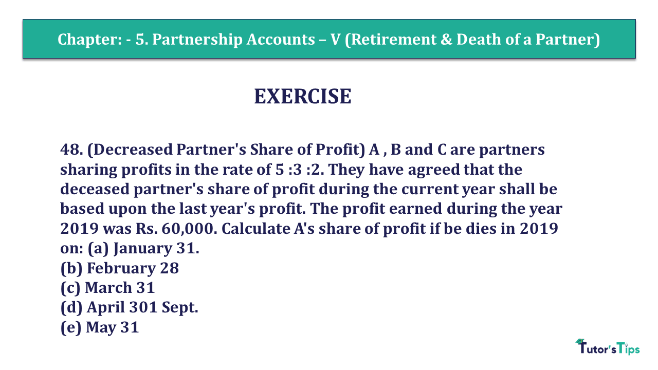 Question 48 Chapter 6 of +2- Part