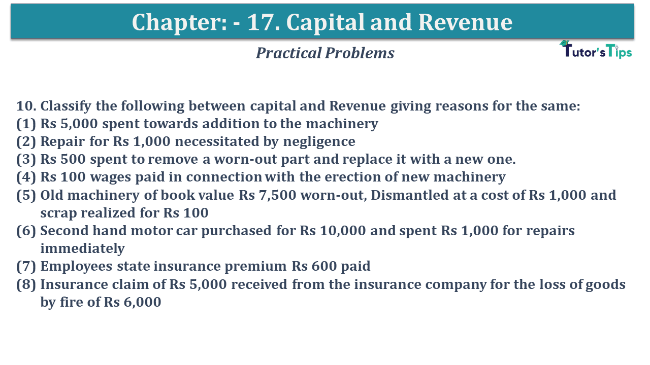 Question No 10 Chapter No 17
