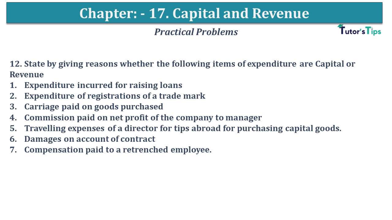 Question No 12 Chapter No 17
