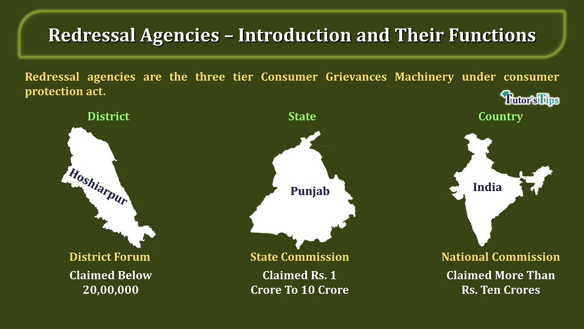 Redressal Agencies – Introduction and Their Functions min - Learn Accounting, GST, Economics and Microsoft Excel
